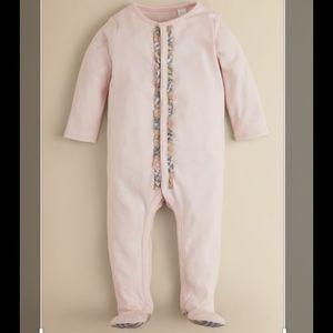 BURBERRY baby onesie pink